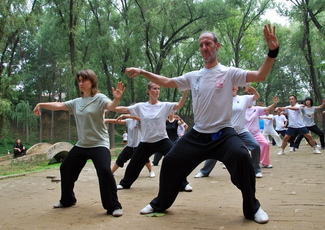 International Tai Chi Students