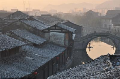 Anchang Old Town in Zhejiang
