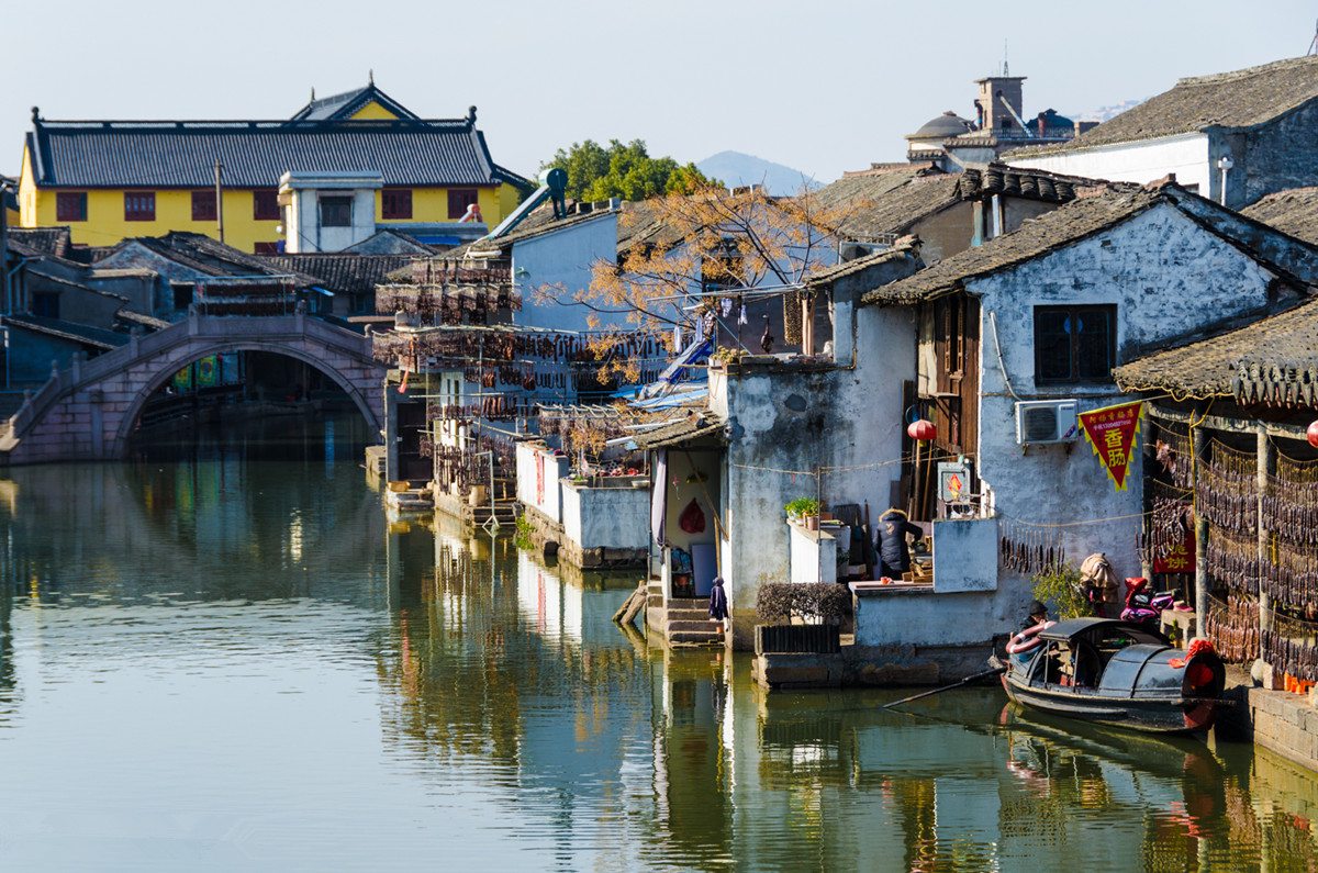 Anchang Town in Shaoxing