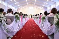 Travel Photos of Chinese  Wedding in Christianity Church