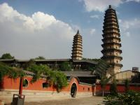 Taiyuan Twin Tower Temple