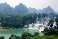 Shuolong Detian Waterfall