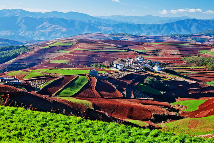 Dongchuan Red Land