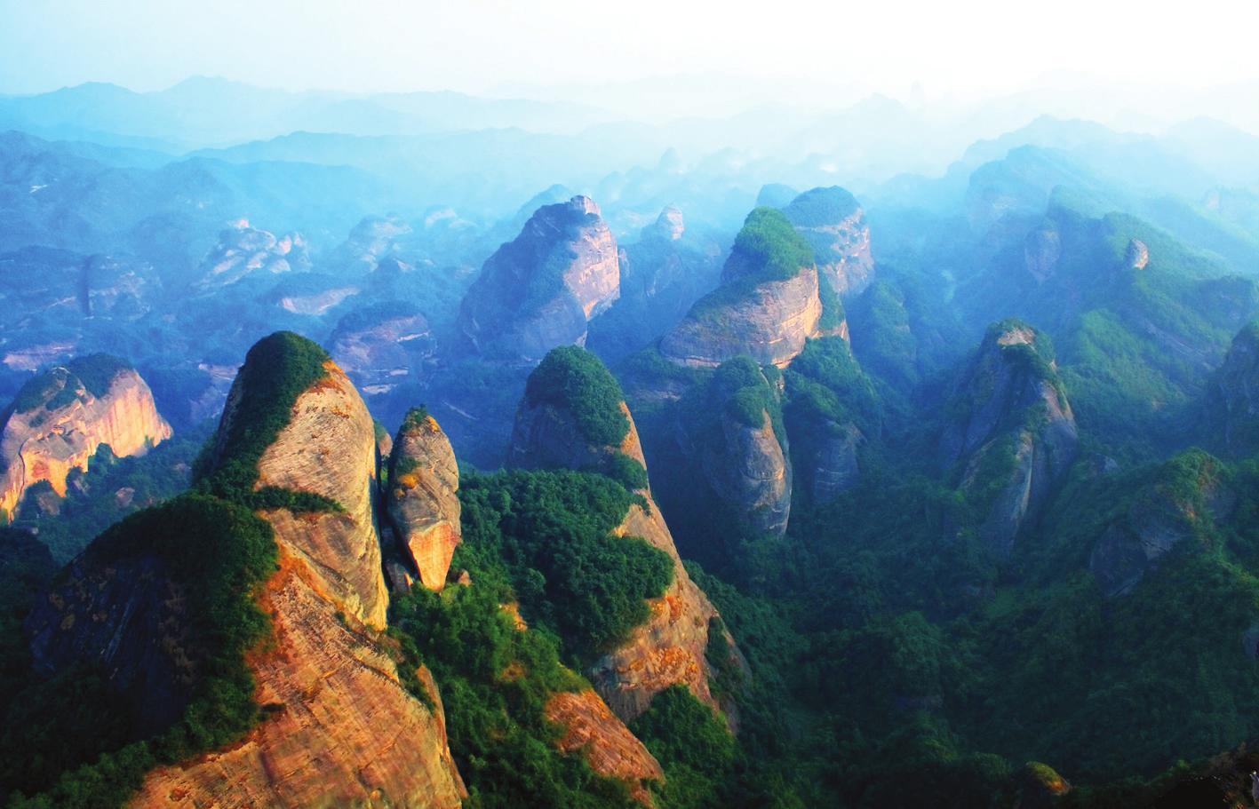Mount Danxia - Wikipedia