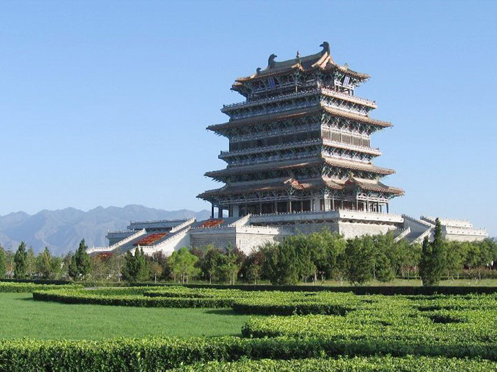 Yuncheng Guanque Tower