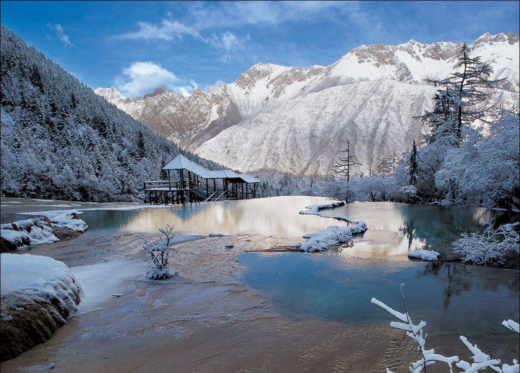 hailuogou glacier park china