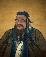 painting of confucius