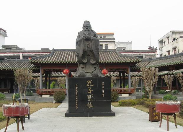 Travel Photos of China Confucianism Saint Confucius Statue