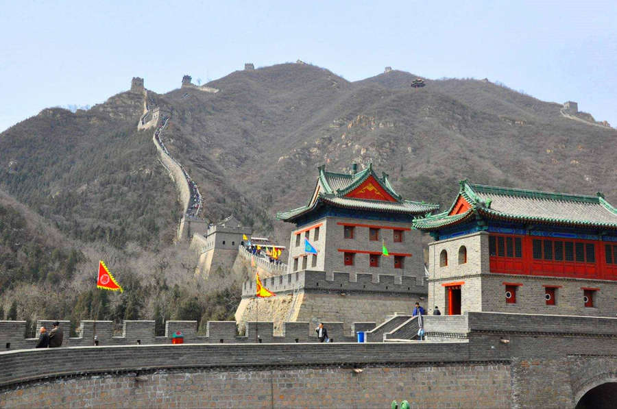 The ancient fortress of Juyongguan Great Wall