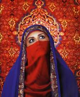 Travel Photos of China Islam Uyghur Lady with Veil