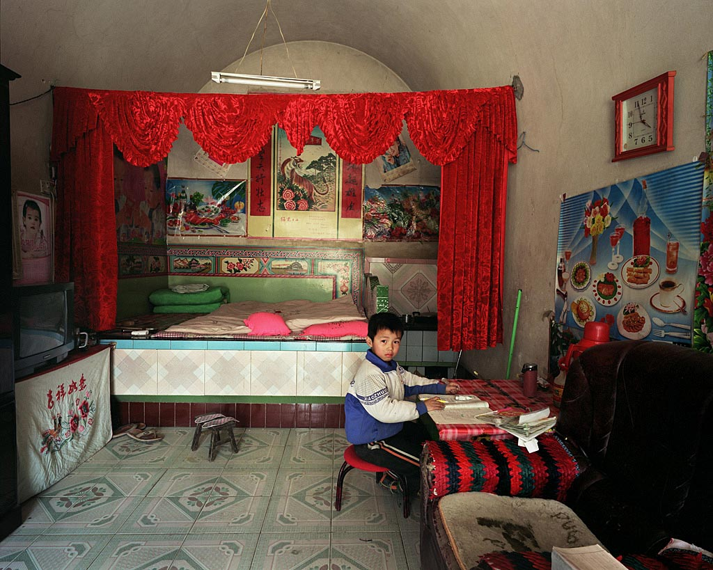 traditional folk houses in North China