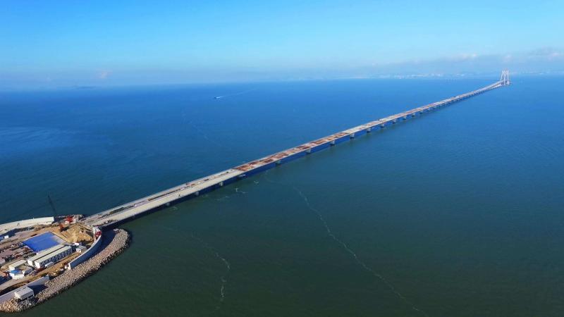 Hong Kong-Zhuhai-Macau Bridge Is About to Open to Traffic