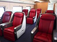 Business Class Seat of China Bullet Train