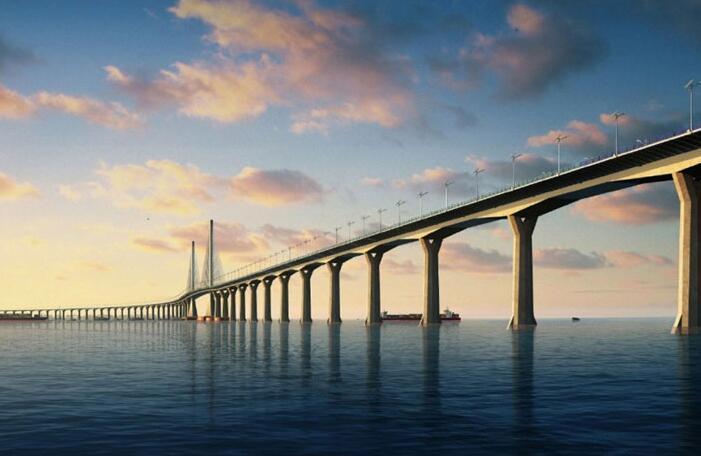 Hong Kong-Zhuhai-Macau Bridge Is About to Open to Traffic