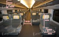 Information about Bullet Train First Class Seat
