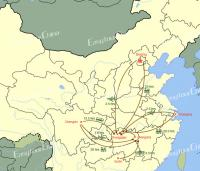 Zhangjiajie Transportation Map