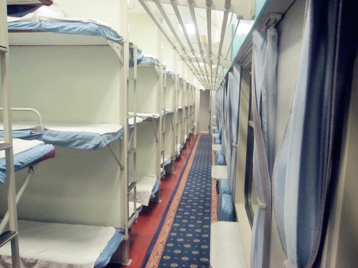 Hard Sleeper Carriage Of Chinese Train China Train Photos