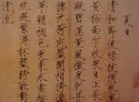 Chinese Calligraphy Image