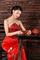 Distinctive Chinese Cheongsam