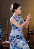 Purple Chinese Cheongsam