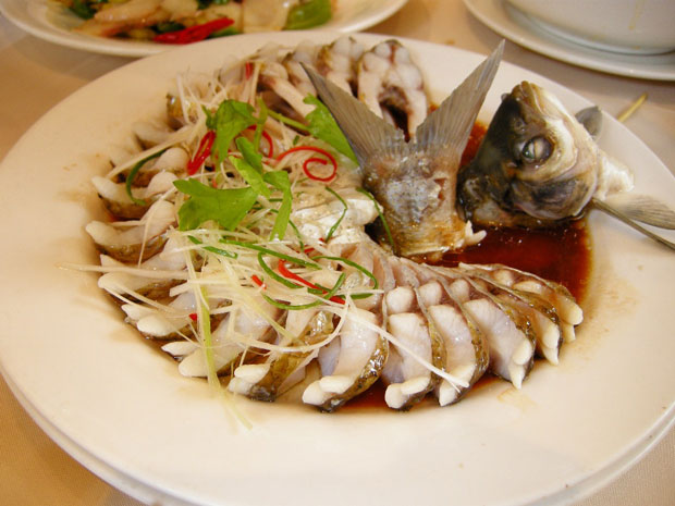 Wuhan steamed wuchang fish photos of chinese food for All about chinese cuisine