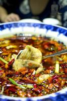 Chongqing Fish filets in hot chili oil