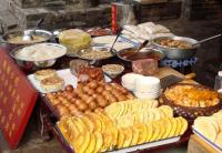 Pingyao Local Snack Stand