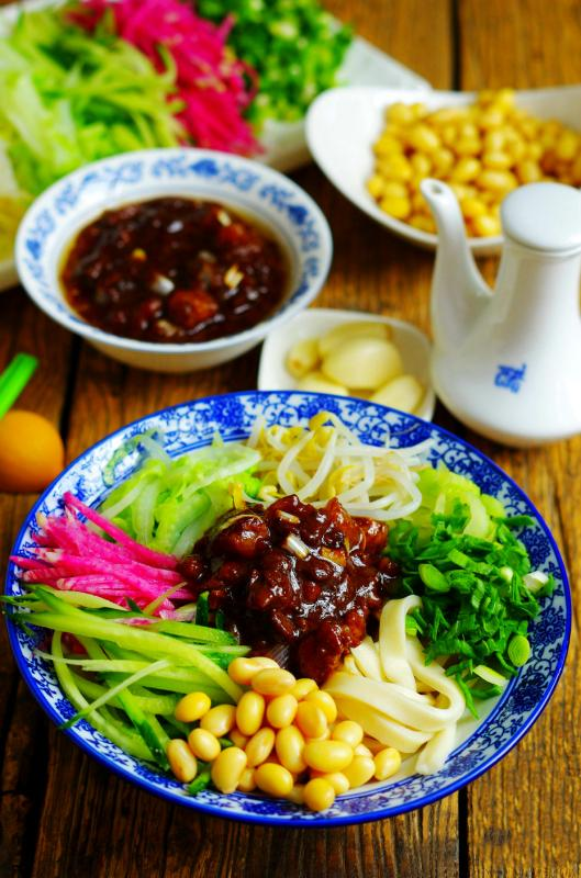 Beijing Noodles with Soybean Paste