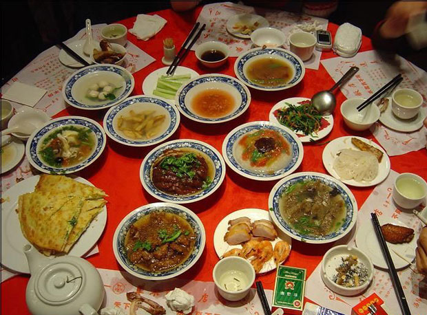 Tang Dynasty Chinese Food