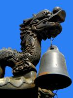 Chinese Dragon on the Roof