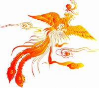 Golden Chinese Phoenix