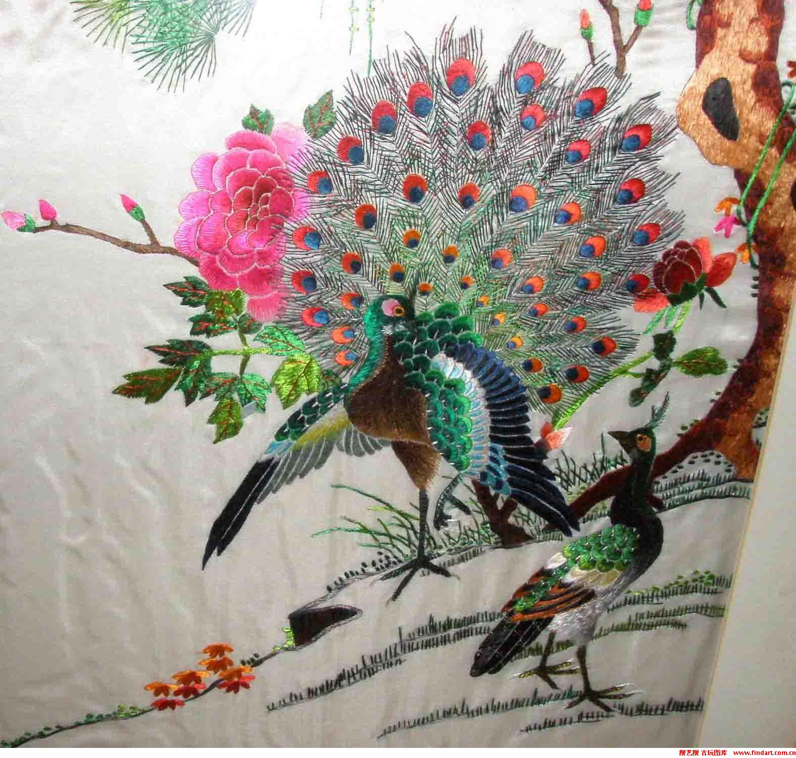 Yue Guangdong Embroidery Chinese Embroidery Pictures