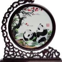 Embroidery of Pandas