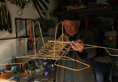 Make Kite in China