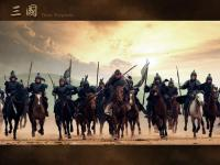 A Movie Secne From Romance of the Three Kingdoms