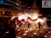 Fire Dragon Festival in Leishan Town