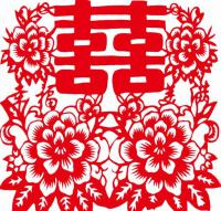 chinese paper cutting for wedding