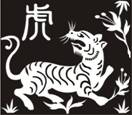 Tiger of Chinese Zodiac