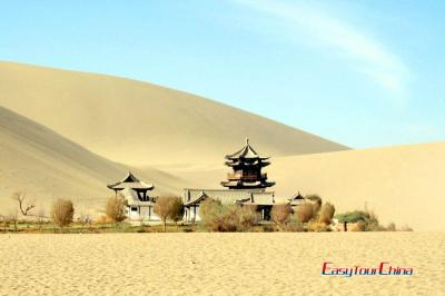 Dunhuang Crescent Moon Pool