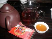 Freshly Brewed Dahongpao