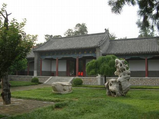 Dai Temple Courtyard