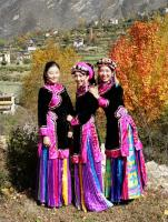 Tibetan Ladies in Danba