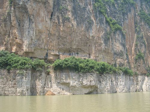 One Side of Daning River and Less Three Gorges