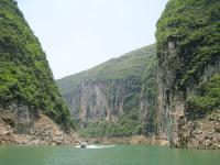 Gorgeous View of Daning River and Less Three Gorges