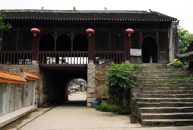 Danzhou Ancient Town Wooden House