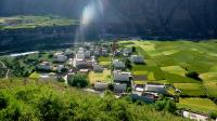 Farmland and Folk Houses in Daocheng
