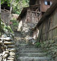 Datang Miao Village Wooden House