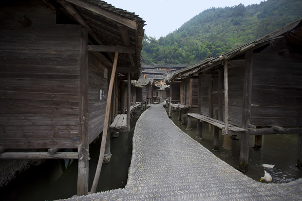 Datang Miao Village Barns