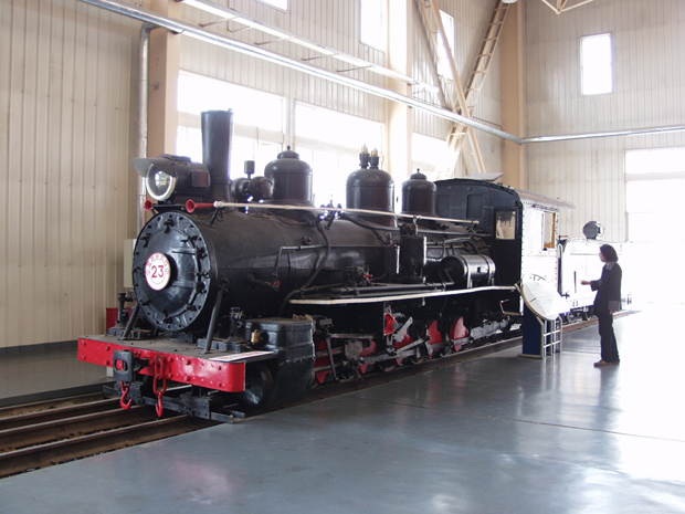 Datong Steam Locomotive Exhibition Hall Visiting