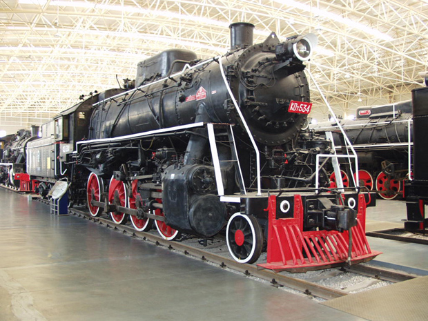 Datong Steam Locomotive Exhibition Hall US Manufactured Locomotive